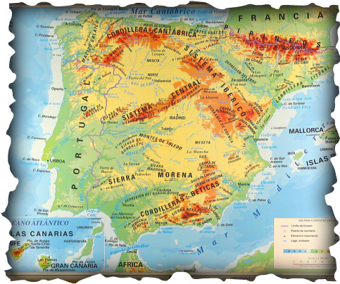 Map Of Spain Vineyards.Spain